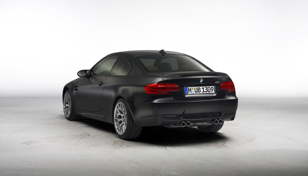 BMW M3 Frozen Black Matte Paint