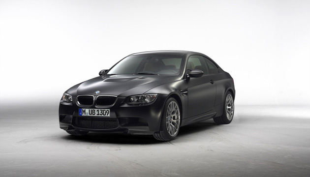 BMW M3 E92 Competition Frozen Black Matte Paint