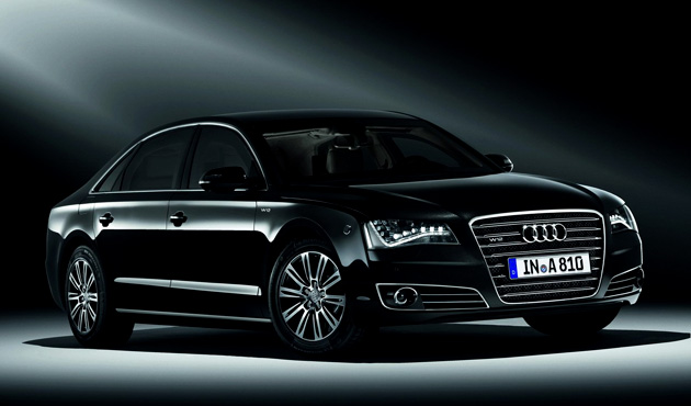 Audi A8 L Security W12