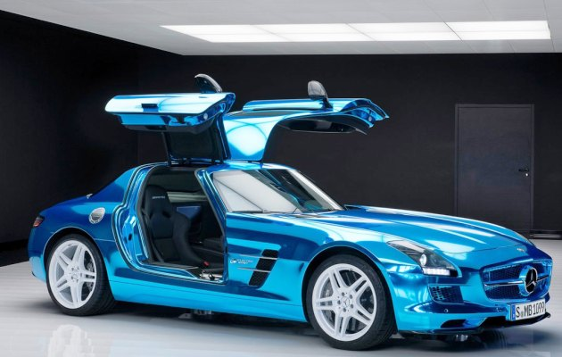 Mercedes-Benz SLS AMG Electric Drive - World?s Most Powerful Electric Car