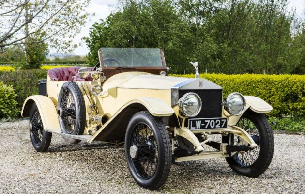 Rolls-Royce Silver Ghost London-to-Edinburgh Tourer